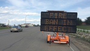 A fire ban is now in place across the entire province of Alberta. (Peter Akman  / CTV News)