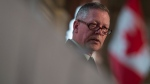 Chief of Defence Staff Jonathan Vance delivers a speech to the Chamber of Commerce in Ottawa, Tuesday May 24, 2016. (Adrian Wyld / THE CANADIAN PRESS)