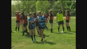 CTV Kitchener: John F. Ross wins Girls Rugby title