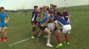 CWOSSA rugby semi-final