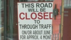 CTV Kitchener: Part of Victoria St. to close