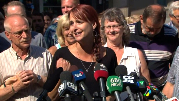 Widow of Bosma speaks
