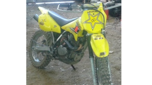Off-road motorcycle stolen from residence on East River Road