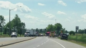 CTV Kitchener: Fatal head-on crash near St. Jacobs