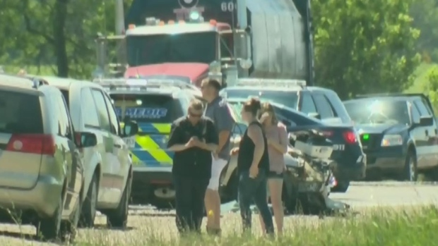 CTV Kitchener: Woman is killed in head-on crash