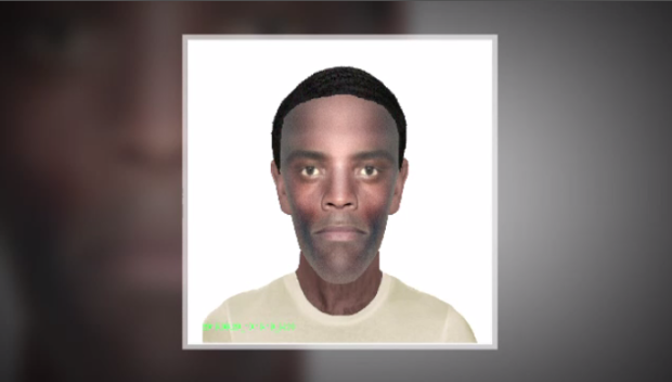 Composite sketch of suspect released by Waterloo Regional police