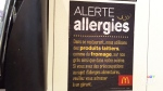 CTV Montreal: Allergy warning's language barrier