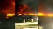 Viewer video of the Hyde park plaza fire in London,Ont. June 30, 2016