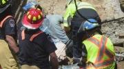CTV Kitchener: Man trapped under beam