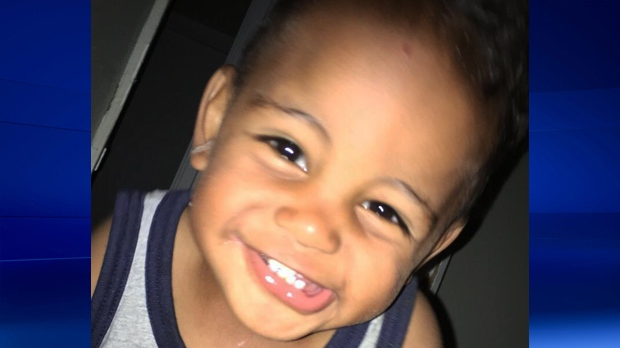 18-month-old Mohamed Abdulla was fatally struck by a vehicle at 39 Amos Avenue in Waterloo on Sunday, July 24, 2016.