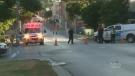 gas leak, belleville, downtown
