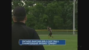 CTV Kitchener: Softball championships begin tonigh