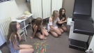 Teamwork game in Goderich focusses on escaping from room.
