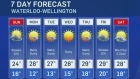 CTV Kitchener: July. 30 weather update