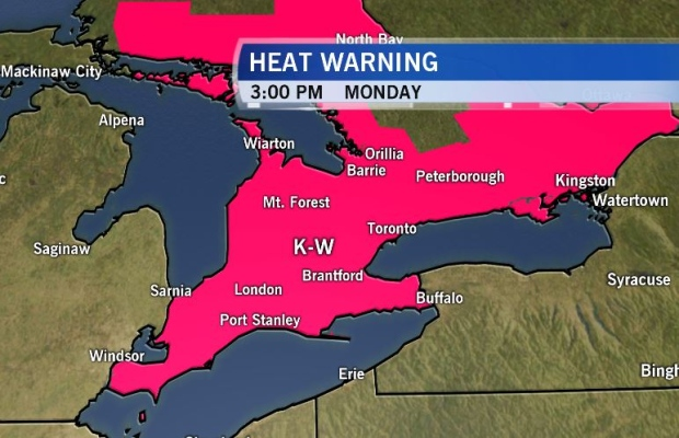 Weather Kitchener: CTV Kitchener: Aug. 8 Weather Update