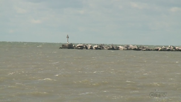 Body of missing swimmer found off pelee island ctv for Lake erie shore fishing
