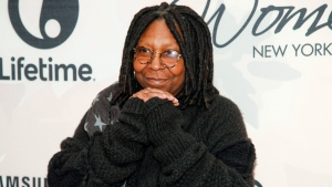 Whoopi Goldberg attends Variety's Power of Women Luncheon at Cipriani Midtown, in New York, April 24, 2015. THE CANADIAN PRESS/AP/Photo by Andy Kropa/Invision/AP, File