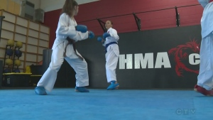 CTV Kitchener: Going for karate gold