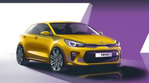 The fourth-generation Kia Rio (AFP)