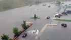 CTV Kitchener Extended: Parking lot floods