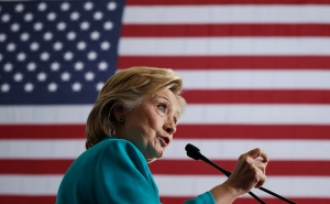 U.S. Democratic presidential candidate Hillary Clinton speaks at a campaign event at Truckee Meadows Community College, in Reno, Nev., Thursday, Aug. 25, 2016. (AP / Carolyn Kaster)