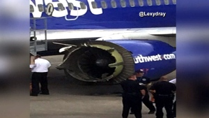 Engine issue forces emergency landing