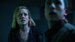 """This image released by Sony Pictures shows Jane Levy, left, and Dylan Minnette in a scene from """"Don't Breathe."""" According to studio estimates Sunday, Aug. 28, 2016, audiences turned out in droves for the late summer thriller, which brought in $26.1 million. (Gordon Timpen/Sony/Screen Gems via The Associated Press)"""