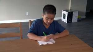 Diki Suryaatmadja, 12, is studying honours physics at the University of Waterloo.