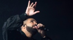 Drake performs in concert as part of the Summer Sixteen Tour at Madison Square Garden on Friday, Aug. 5, 2016, in New York. (Charles Sykes/AP)