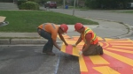 CTV Kitchener: Sunshine on the sidewalk