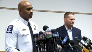 Charlotte police discuss Keith Scott case