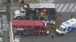 CTV Kitchener: Worker trapped in hot tar