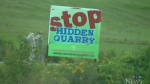 CTV Kitchener: Quarry meeting controversy