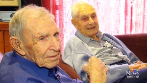 CTV Toronto: Brothers, aged 90 and 95, reunite