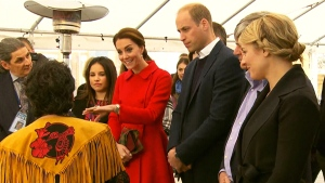 CTV News Channel: Interacting with the Royals