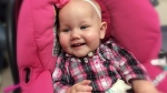 Everley was born with a rare disorder called congenital central hypoventilation syndrome, affecting only 1,000 kids worldwide.