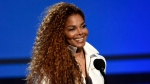 In this June 28, 2015, file photo, Janet Jackson accepts the ultimate icon: music dance visual award at the BET Awards in Los Angeles. Jackson showed off an apparent baby bump while leaving a baby furniture store in London on Tuesday, Sept. 27, 2016. Pictures of Jackson were published online by Entertainment Tonight. (Chris Pizzello/AP)