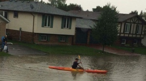Tecumseh flooding