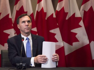 In this Oct. 3, 2016 file photo, Finance Minister Bill Morneau makes an announcement on housing in Toronto. (Nathan Denette / THE CANADIAN PRESS)