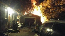 Myers Road Cambridge fire