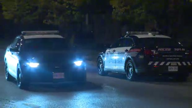 Police presence seen on St. Leger Street