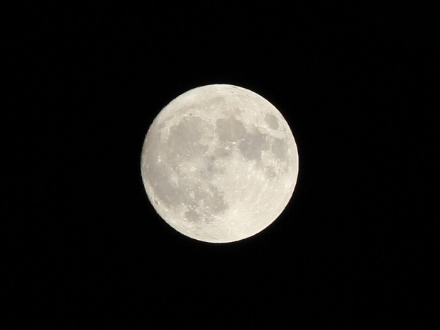 It was the most super 'supermoon' in decades on Nov. 13-14, as the moon passed closer to Earth than it had in 68 years. Here, the moon in seen from Cambridge. (Elsa Blaine / MyNews)