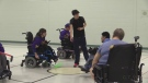 Wheelchair hockey in London, Ont.