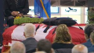 Funeral for Cpt. Thomas McQueen in Hamilton