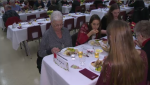 Preston High School students served up dinner to area seniors