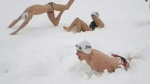 CTV News Channel: Diving through the snow