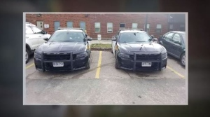 OPP cruisers parked in dialysis spots