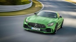 The Mercedes-AMG GT-R is seen in this provided photo. © Daimler AG