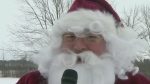CTV Kitchener: Santa stops in Shakespeare