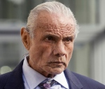 """In this Nov. 2, 2015, photo, former professional wrestler Jimmy """"Superfly"""" Snuka leaves Lehigh County Courthouse in Allentown, Pa. (Michael Kubel/The Morning Call via AP, File)"""